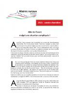 Edito Allier 2021